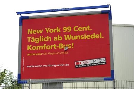 new york 99 cent (werbung für plakatwerbung)